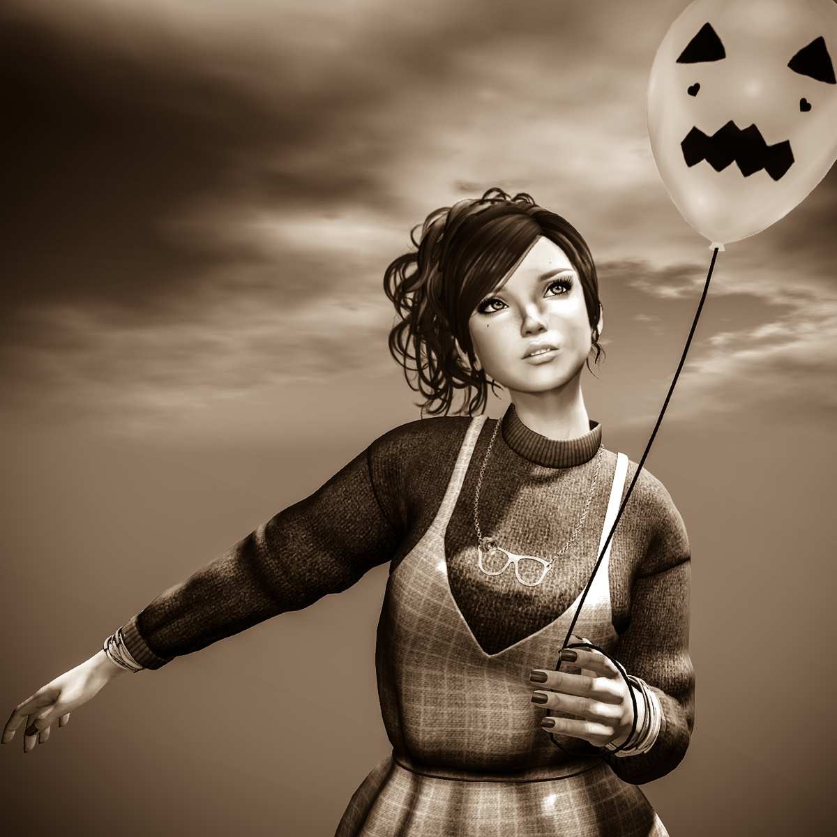 Q: How scary can I be for Halloween? A: Notvery!